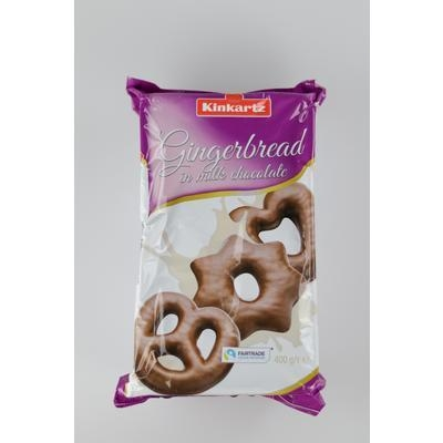 Picture of GINGERBREADS WITH MILK CHOCOLATE 400g LAMBERTZ VM