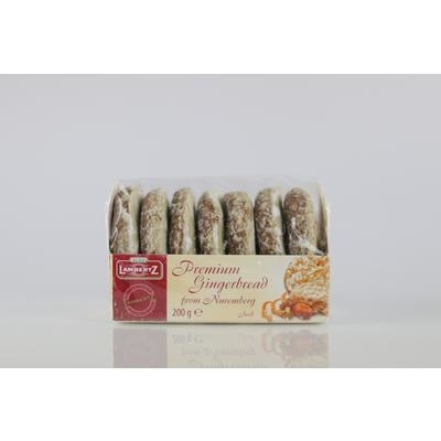 Picture of GINGERBREADS WITH Icing 200g LAMBERTZ