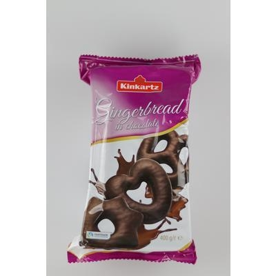 Picture of GINGERBREADS WITH DARK CHOCOLATE 400g LAMBERTZ ZB