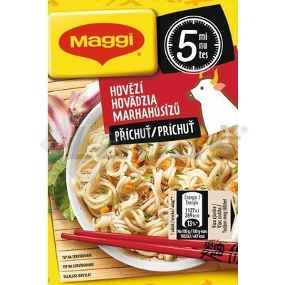 Picture of INSTANT Noodle SOUP WITH BEEF FLAVOR 59.2g MAGGI TASTY PAUSE