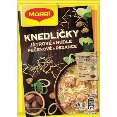Picture of LIVER DUMPER AND Noodle Soup 55g MAGGI