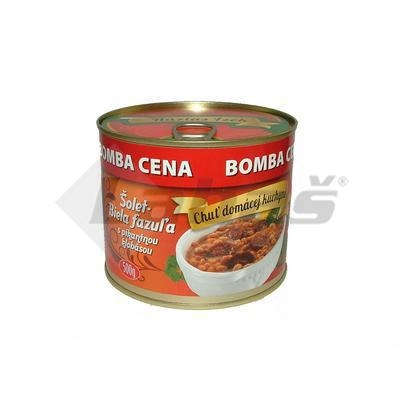 Picture of BEAN STUFF WITH SPICY SAUSAGE 500g SZEGEDI
