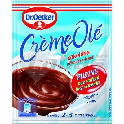 Picture of PUDDING CREAM OLÉ CHOCOLATE FLAVOR 56g WITHOUT COOKING OETKER