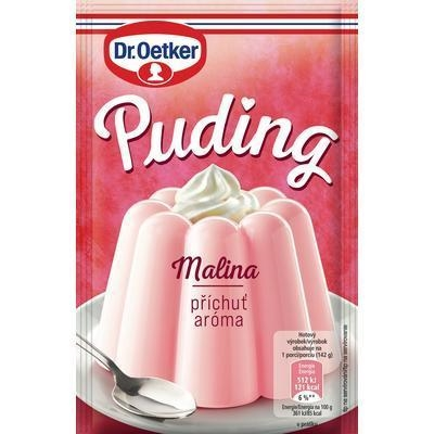 Picture of RASPBERRY PUDDING 38g OETKER
