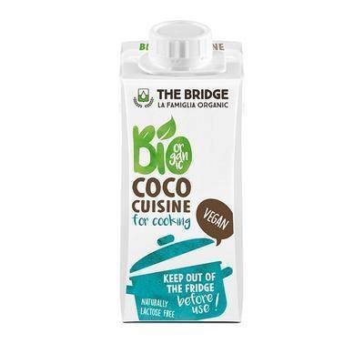 Picture of VEGETABLE VEGETABLE ORGANIC COCONUT CREAM 200ml BRIDGE GLUTEN-FREE
