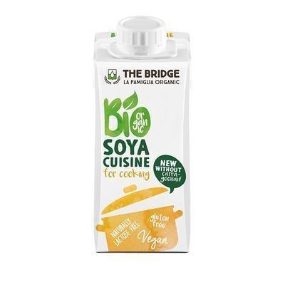 Picture of VEGETABLE VEGETABLE ORGANIC SOYA CREAM 200ml BRIDGE GLUTEN-FREE