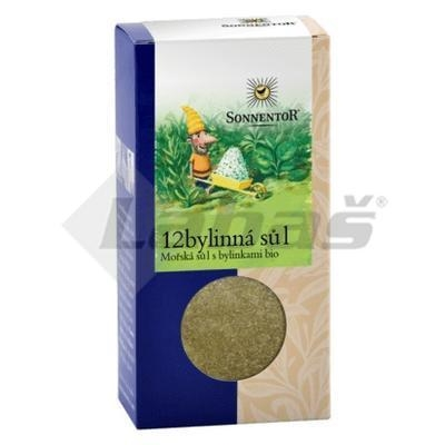 Picture of ORGANIC SALT WITH 12 HERBS 120g SONNENTOR