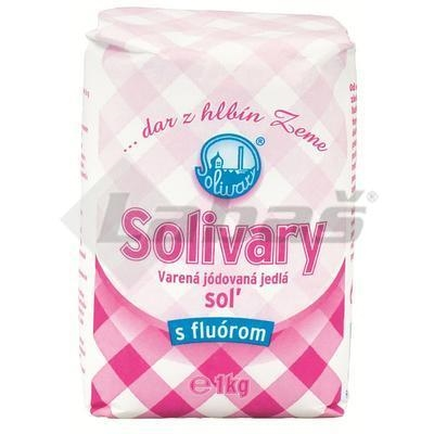 Picture of PREŠOV JODED SALT WITH FLUORINE 1kg