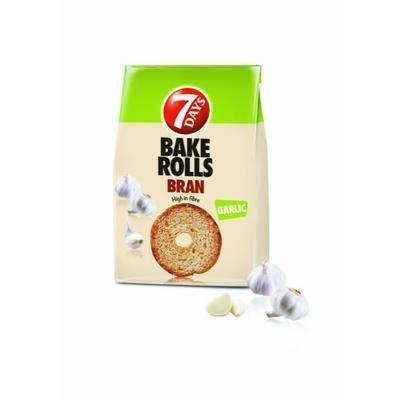 Picture of BAKED GARLIC BRAND BAKE 80g BAKE ROLLS 7 DAYS