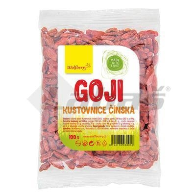 Picture of DRIED GOJI FRUIT - CHINESE GOOSE 100g WOLFBERRY