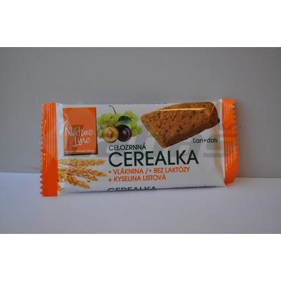 Picture of WHOLE-GRAIN CEREAL BISCUITS 30g NATURE LINE