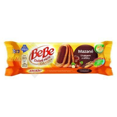 Picture of BEBE BISCUITS GOOD MORNING LUBRICED COCOA AND NUTS 50g OPAVIA