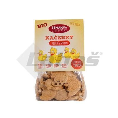 Picture of ORGANIC APPLE DUCKERS WITH SPELLED FLOUR 100g ZEMANKA
