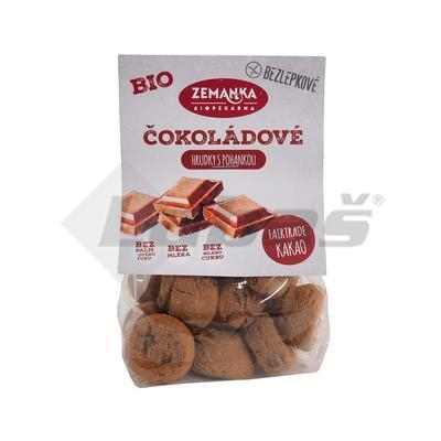 Picture of ORGANIC DRIED BISCUITS. BUCKETS WITH CHOCOLATE 100g ZEMANKA GLUTEN FREE