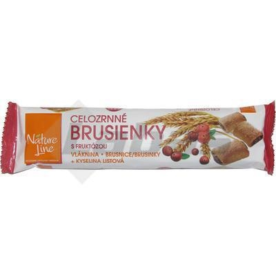 Picture of WHOLE-GRAIN CRANBERRY BISCUITS WITH CRANBERRIES 65g NATURE LINE