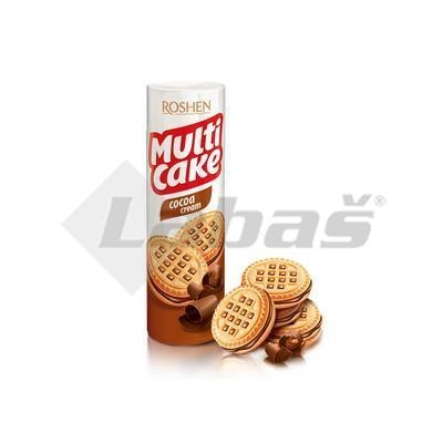 Picture of COOKIE BISCUITS WITH COCOA CREAM 180g MULTICAKE ROSHEN