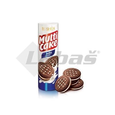 Picture of COOKIE BISCUITS WITH MILK CREAM 180g MULTICAKE ROSHEN