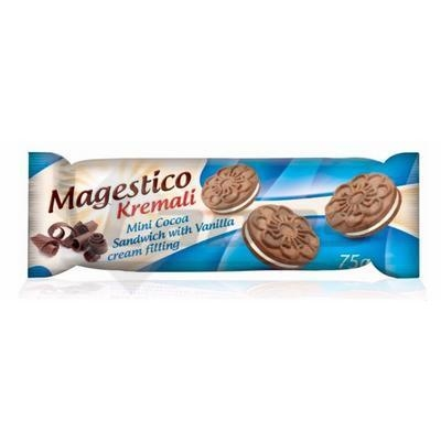 Picture of BISCUITS MAGESTICO KREMALI COCOA 75g