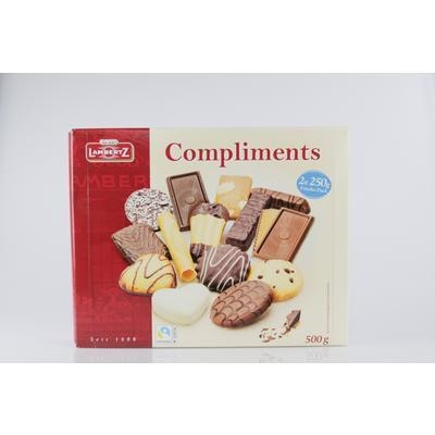 Picture of BISCUITS MIX COMPLIMENTS 500g LAMBERTZ