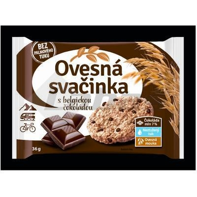 Picture of OATED TEN BISCUITS WITH BELGIAN CHOK. 36g FAMMILKY