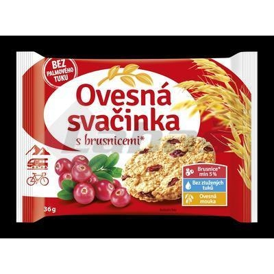 Picture of OAT TEN BISCUITS WITH CRANBERRIES 36g FAMMILS