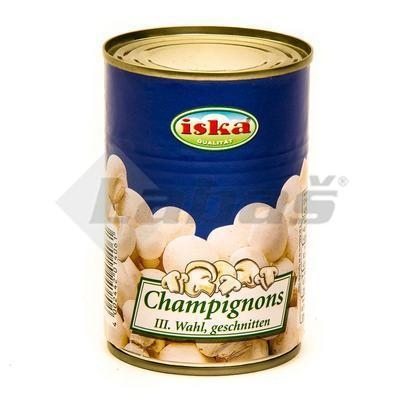 Picture of Sliced STERILIZED CHAMPIONS 314ml / PP 155g ISKA