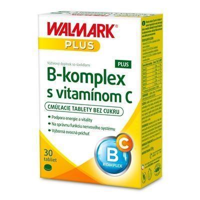Picture of TABLETS B COMPLEX PLUS + VIT.C 30pcs WALMARK