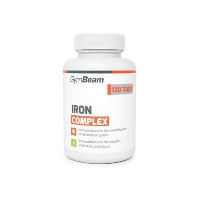 Picture of TABLETY IRON COMPLEX 120ks GYMBEAM