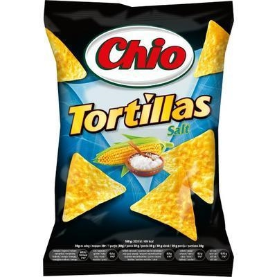 Picture of TORTILLAS SALT 125g CHIO