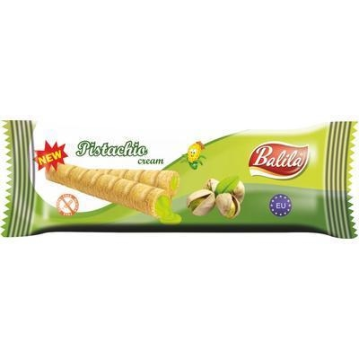 Picture of MAIZE PISTACHIO TUBES PACKAGING 18g GLUTEN FREE