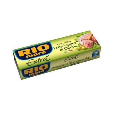 Picture of TUNA IN EXTRA VIRGIN OLIVE OIL 3x80g / PP 156g RIO MARE