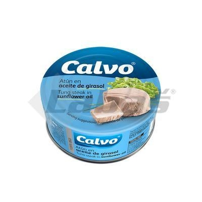 Picture of TUNA IN OIL PIECES 160g / PP 104g CALVO