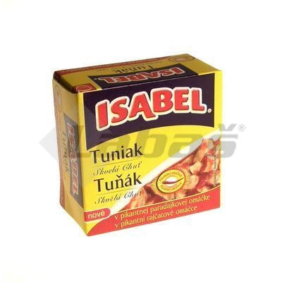 Picture of TUNA IN SPICY SAUCE WHOLE 80g / PP 52g EO ISABEL