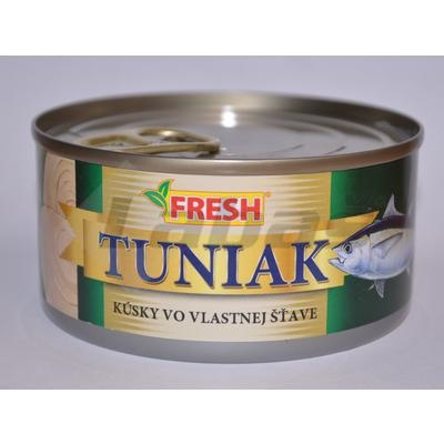 Picture of TUNA IN OWN JUICE PIECES 185g / PP 130g EO FRESH