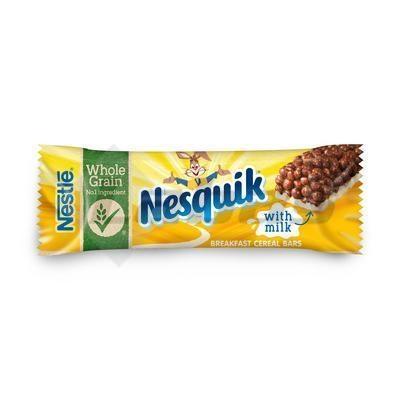 Picture of NESQUIK CEREAL BAR + MILK 25g -5901