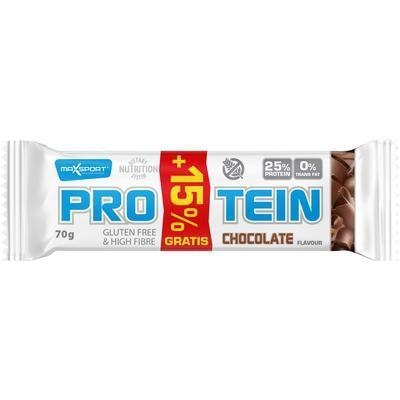 Picture of PROTEIN CHOCOLATE GF + 15% FREE 70g MAX SPORT GLUTEN FREE