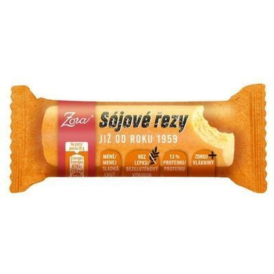 Picture of SOY CUT BAR 50g ZORA -174066 GLUTEN-FREE