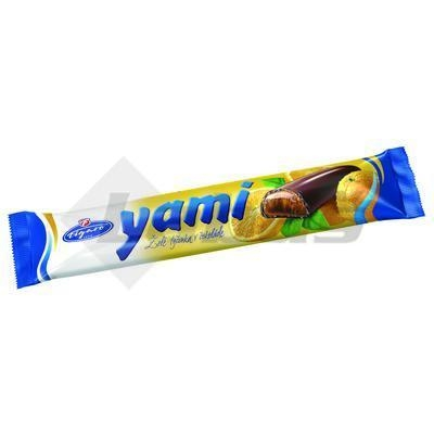 Picture of YAMI JELLY ORANGE BAR 25g