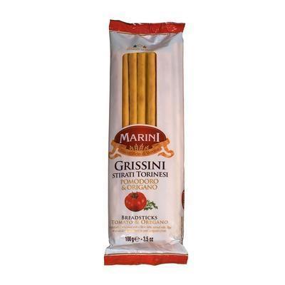 Picture of GRISSINI MARINI THIN STICKS WITH PARADE PUREE AND OREGAN 100g ITALIAMO