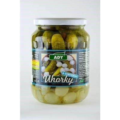 Picture of CUCUMBERS STERILIZED WITH ONION 660g / PP 340g