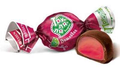 Picture of AVI - Sweets in cherry glaze TRU-LA-LA, 1kg £/kg (box*7)